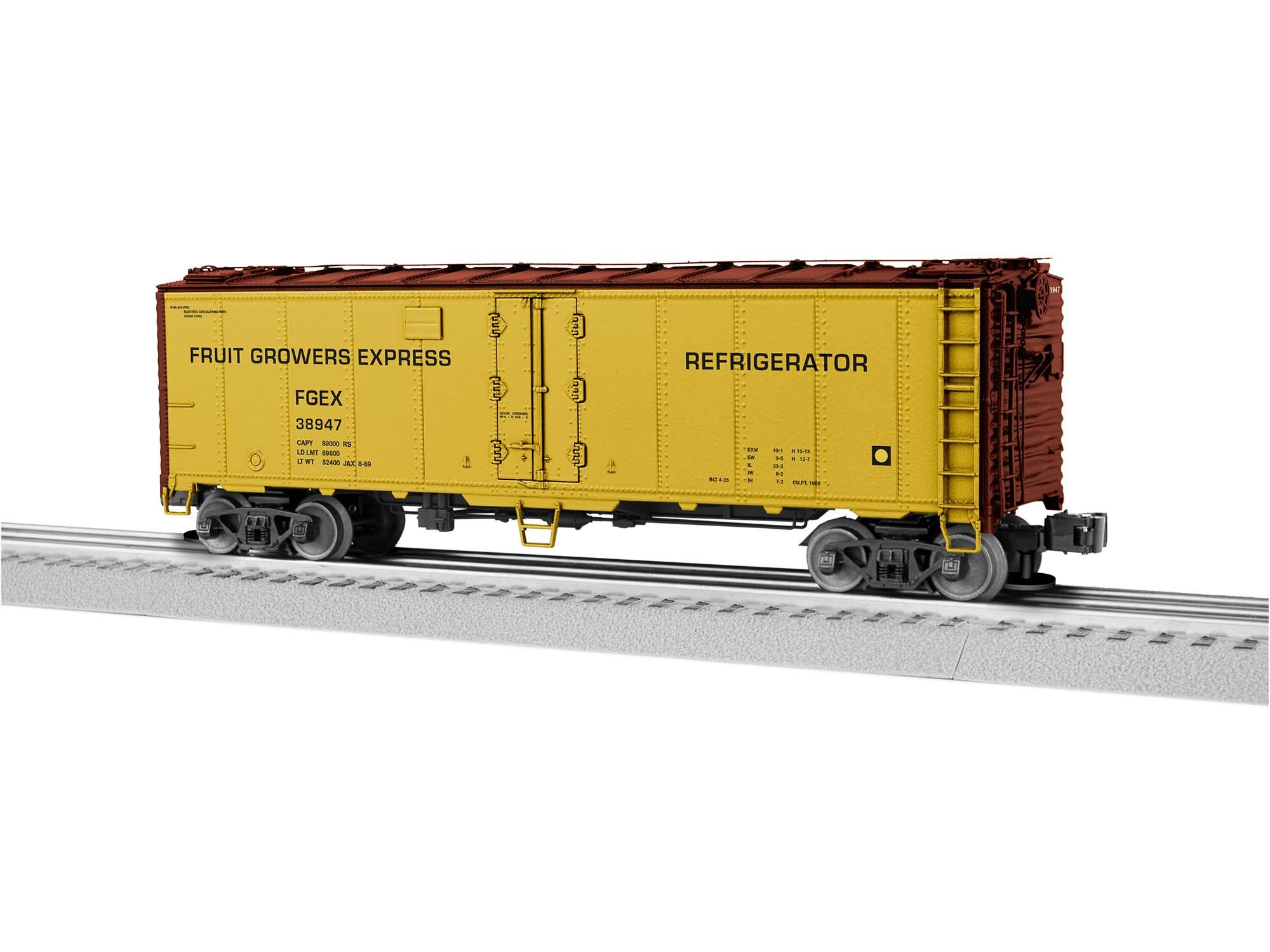 1926080  FGE Reefer w/Freightsounds