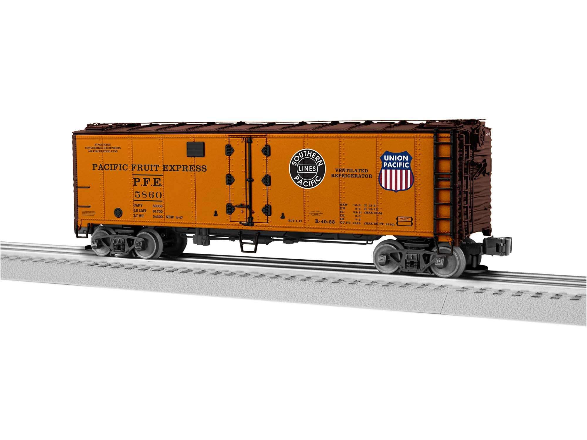 1926110  PFE Reefer w/Freightsounds