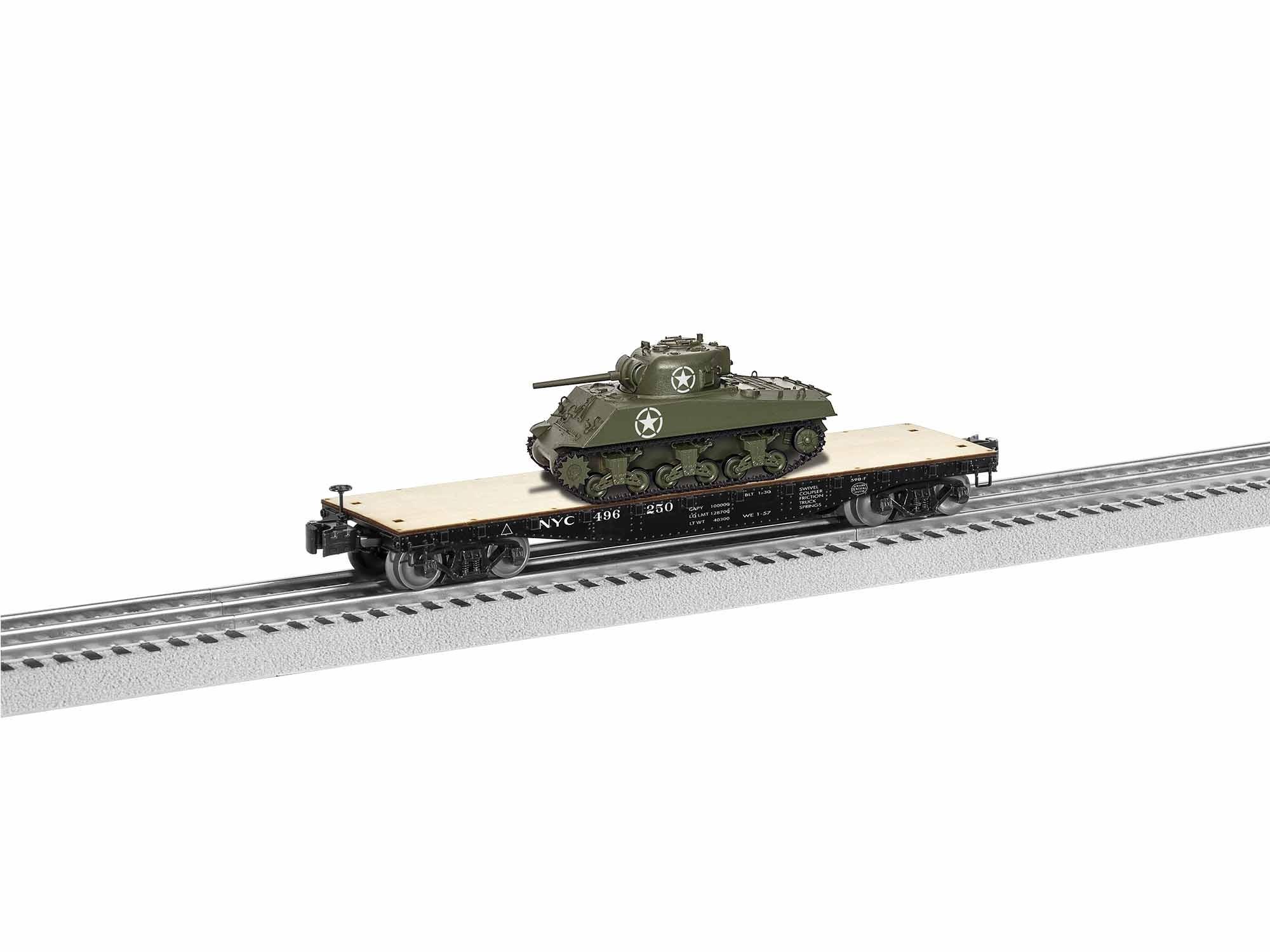 1926711  NYC Flat w/Sherman Tank #496250