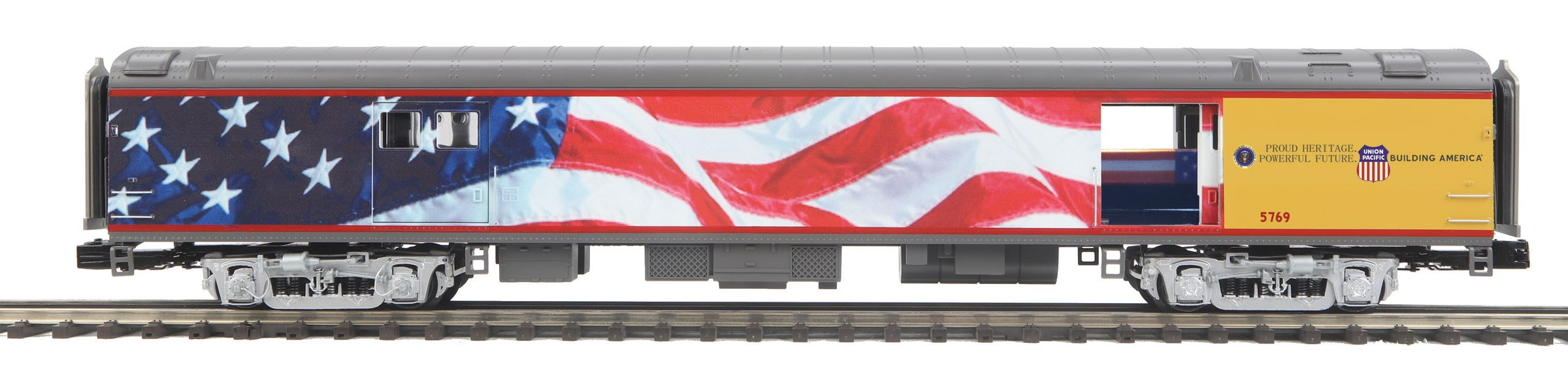 20-64089  UP 70' Streamlined Baggage Car (Smooth Sided)