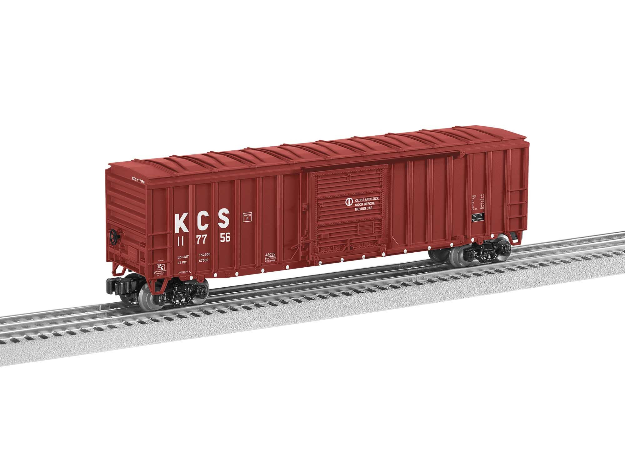 2043032  KCS 50' Boxcar