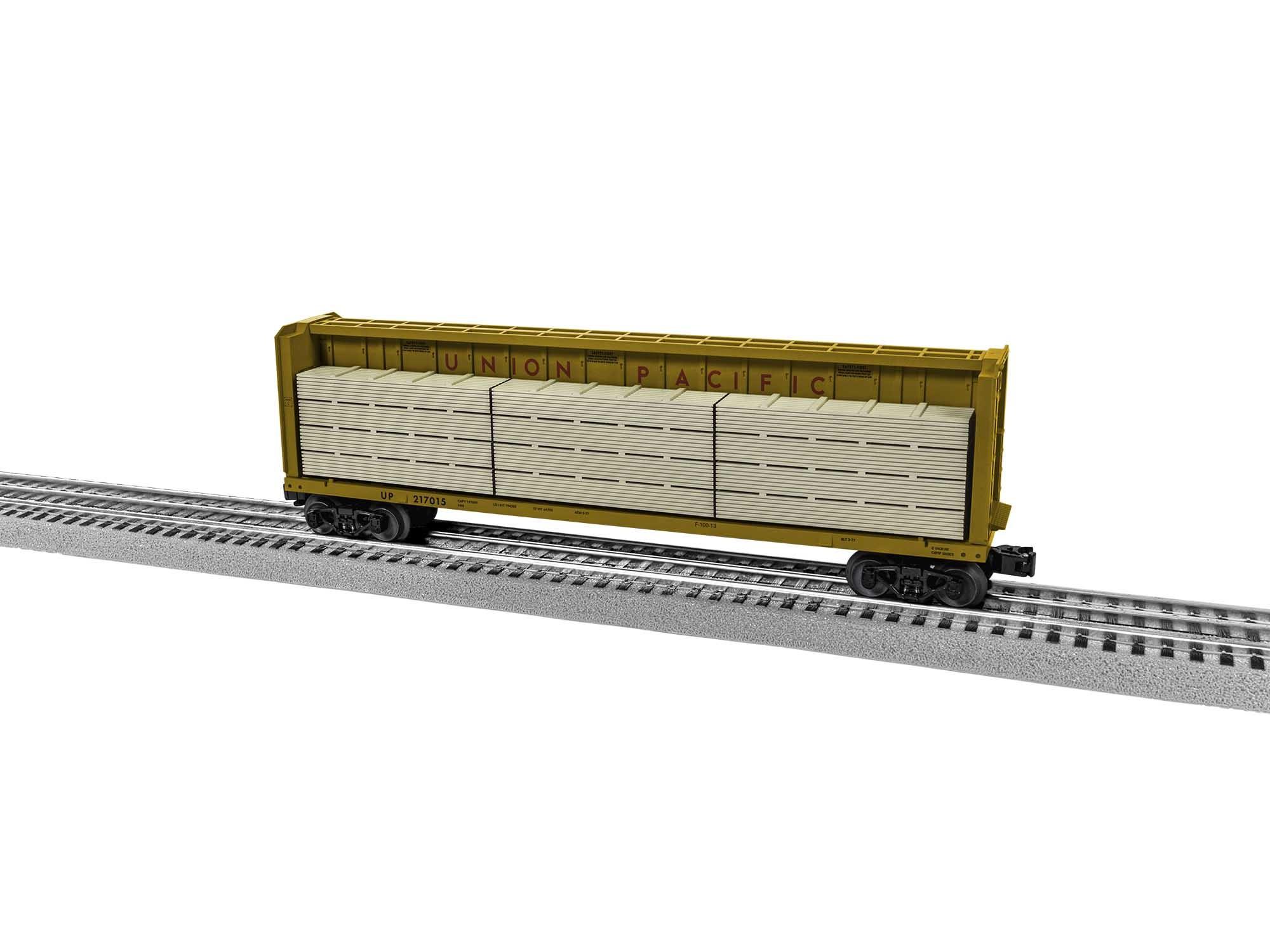 2043071  UP Centerbeam Flatcar