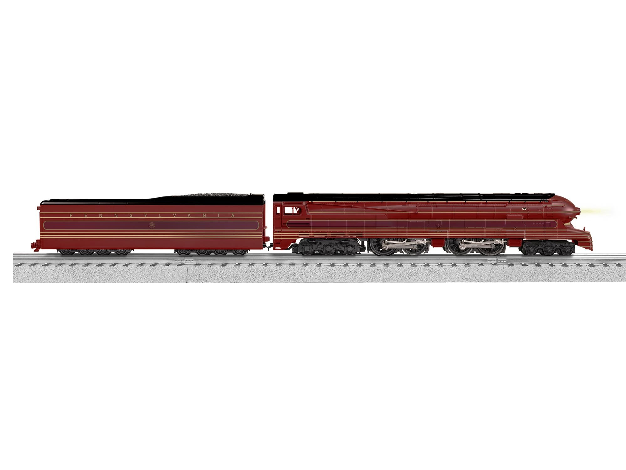 2131040  PRR S1 6-4-4-6 #6100 - Tuscan Red