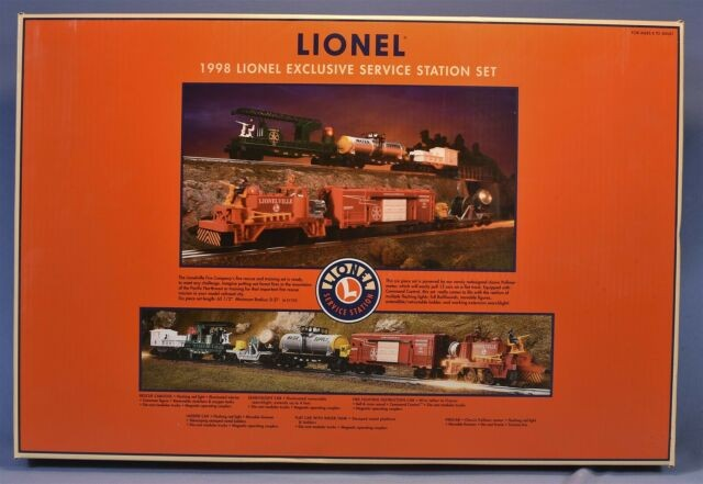 6-21753  1998 Service Station Set - Lionelville Fire Rescue