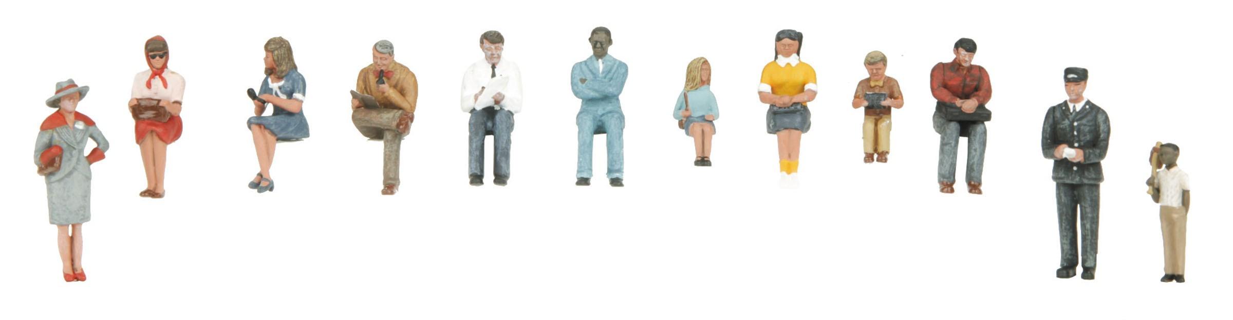 30-11068  Passenger Figure Set #4 - 12 pc