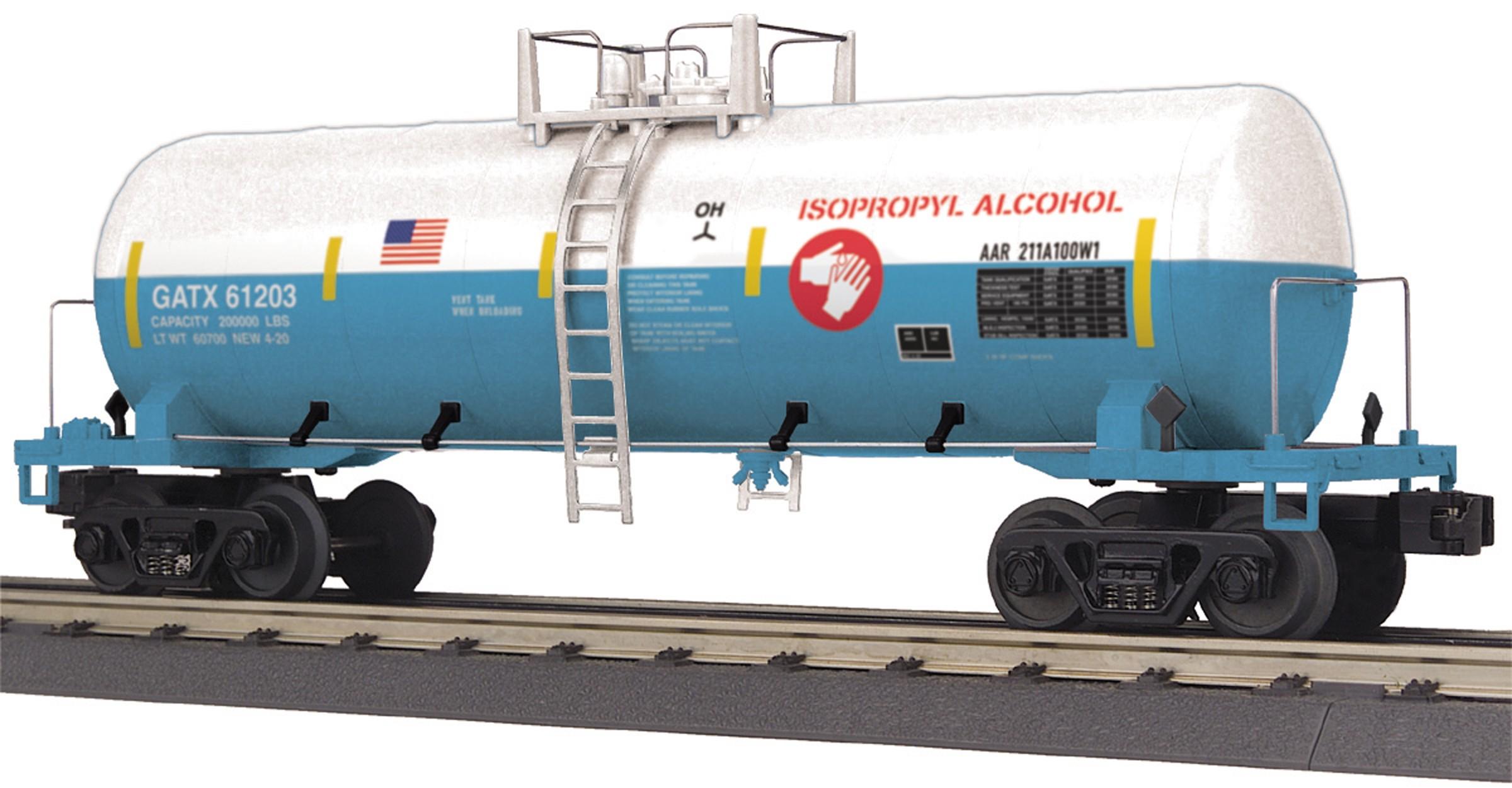 30-73578  Isopropyl Alcohol Modern Tank Car
