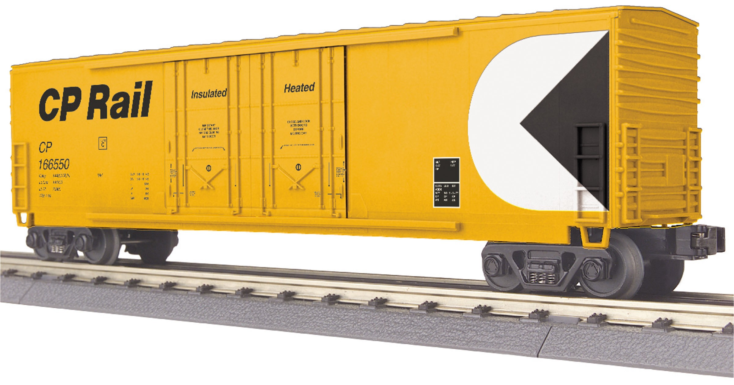 30-74853  CP Rail 50' Double Door Plugged Boxcar