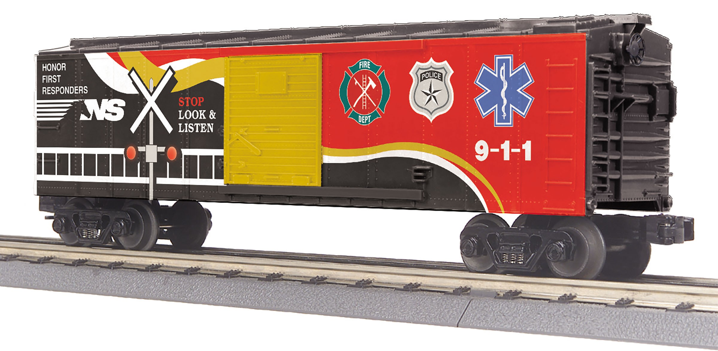 30-74885  Norfolk Southern Boxcar w/Blinking LED's