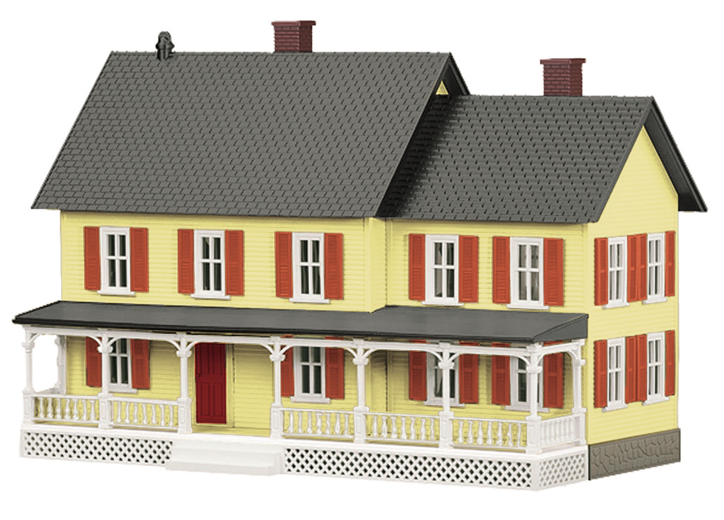 30-90186  Yellow #4 Country House