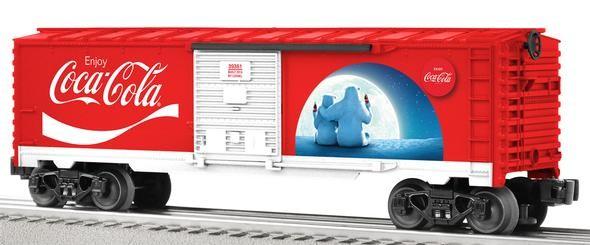 6-39361  Coca-Cola Polar Bear Boxcar