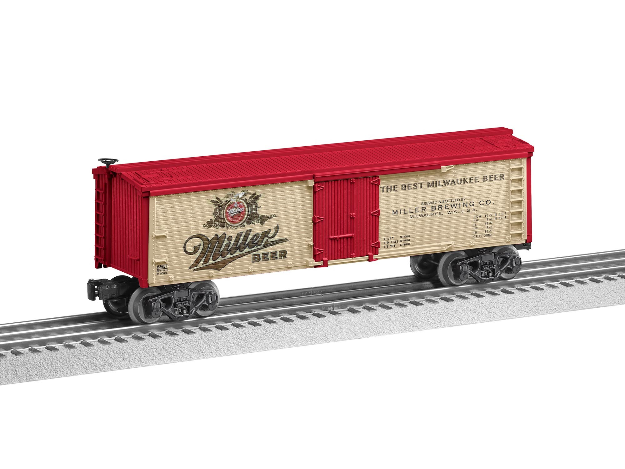 6-83657  Miller Beer Reefer