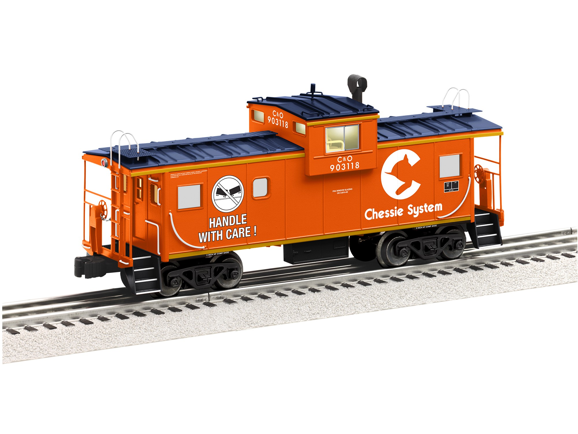 6-85073  Chessie Wide Vision Caboose w/Camera