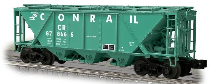 WEV24012  Conrail (PC Green) H30 Hopper w/Shaker Brackets