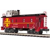 20-91690  Santa Fe Steel Caboose