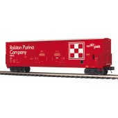 20-93737  Ralston Purina 50' DD Plugged Box Car