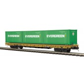 20-95262  TTX 60' Flat Car w/(3) 20' Containers