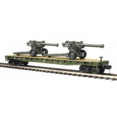 20-95347  US Army Flat w/105mm Howitzers