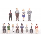 30-11016  Passenger Figure Set #1 - 12 pc