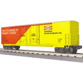 30-74987  Canfor 50' Double Door Plugged Box Car