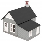 30-90010  Gray & Black Work House #2