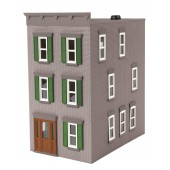 30-90507  Gray & Green 3-Story Town House #2