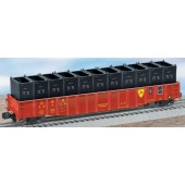 6-17474  D&H PS-5 Gondola w/Containers
