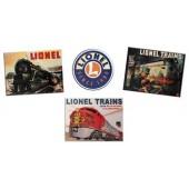6-22477  Lionel Tin Sign Replica (4 Pk)