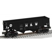 6-82411 N & W 2-Bay Coal Hopper