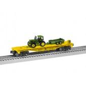 6-85321  John Deere Flat w/Tractor Load