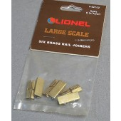 8-82102  Lionel Large Scale Rail Joiners