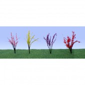 "JTT95502  O Flower Bushes 1""-1-1/2"""