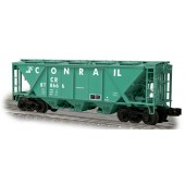 WEV24012  Conrail (PC Green) H30 Hopper w/Shaker Brackets